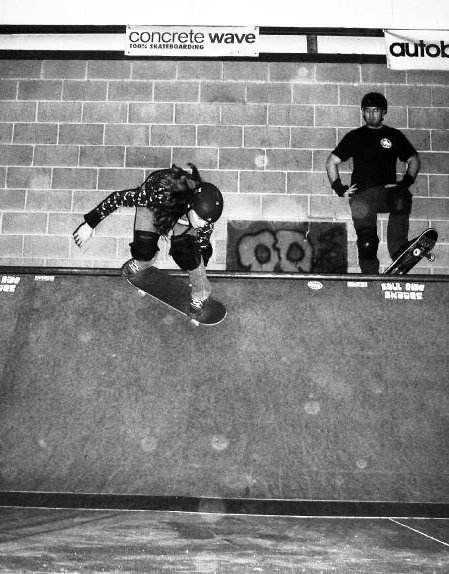Skateboarding at the old Soul Ride Skatepark - Photo by Kyle Lindley