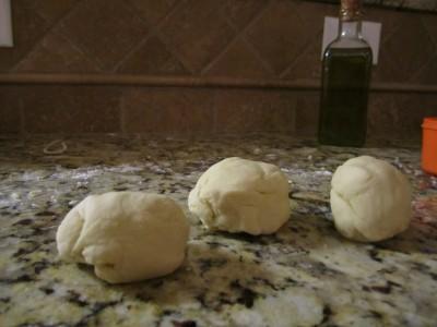 Pasta Dough Balls