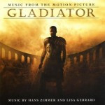 """The Gladiator Soundtrack"" albumn cover"