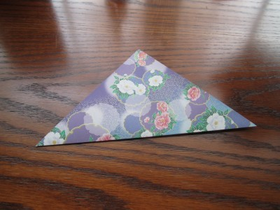 Diagonal Fold