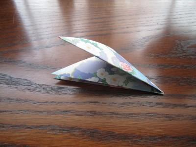 3rd Diagonal Fold