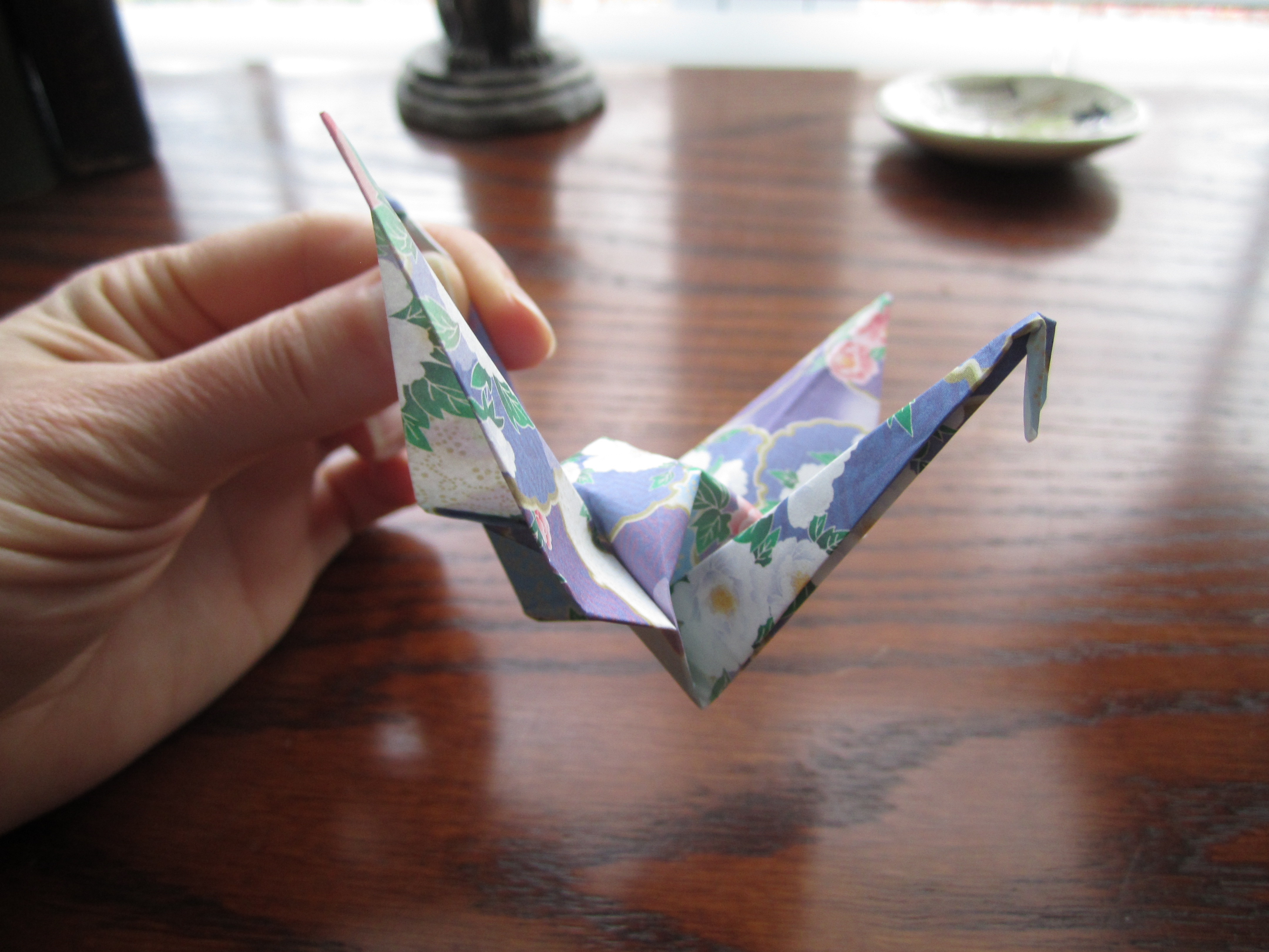 Finished Paper Crane