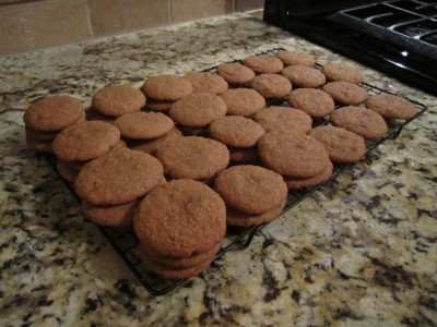 Cooling Ginger Cookies