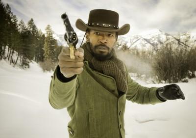 Django Unchained: Jaime Foxx Gunslinging