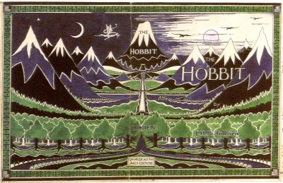 The Hobbit - old cover that I remember