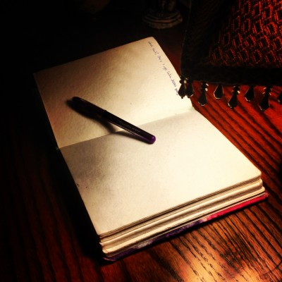 Writing stuck - blank pages