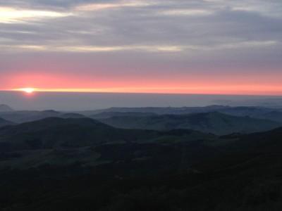 Sunset from the Ridge