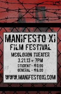 Manifesto XI poster