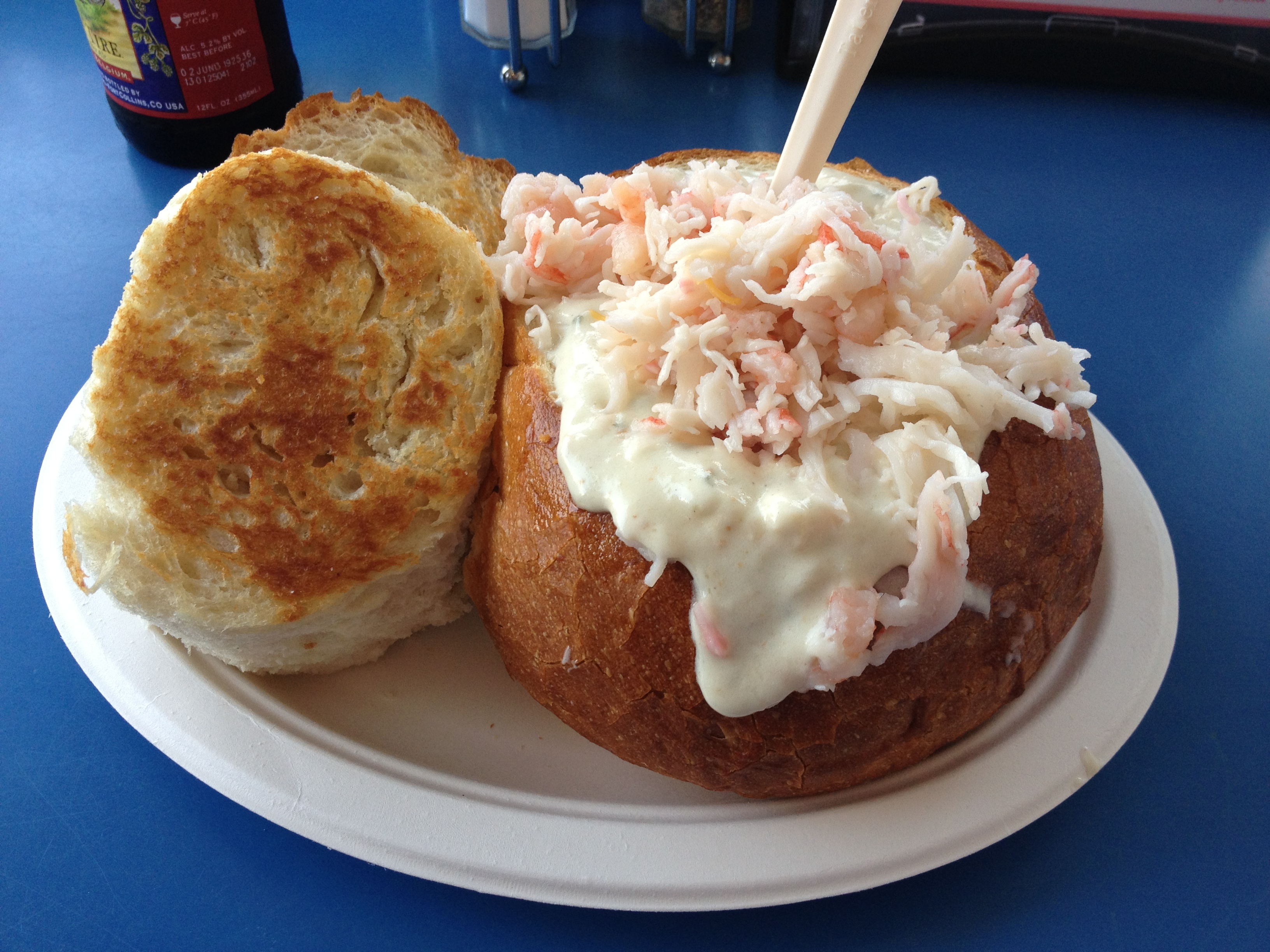 Splash Clam Chowder - the best
