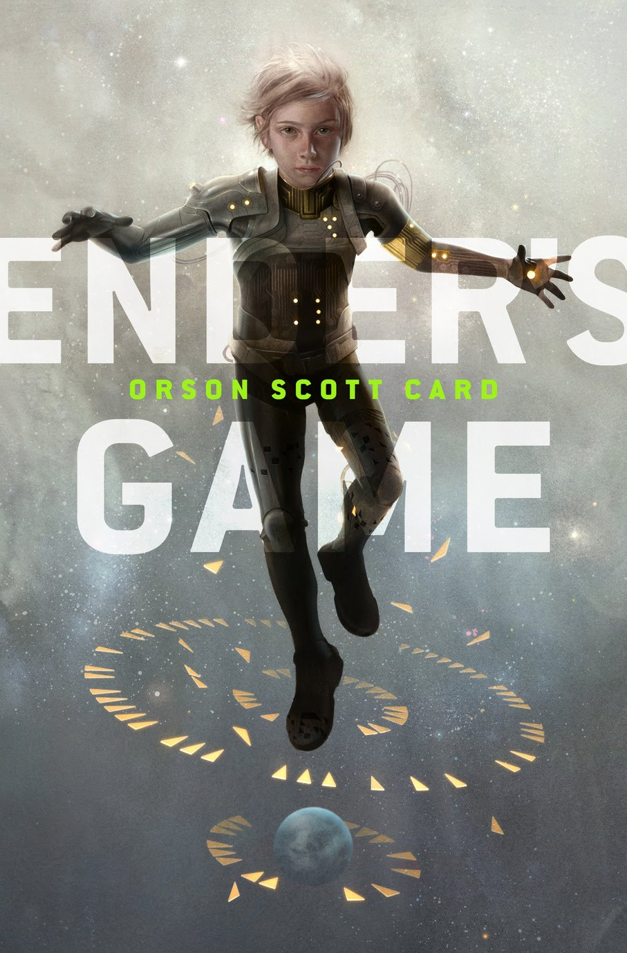 """Ender's Game"" book cover"