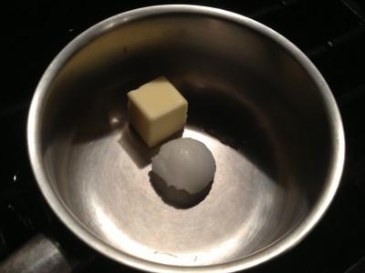 Butter & Coconut Oil - my favorite fat combination for granola