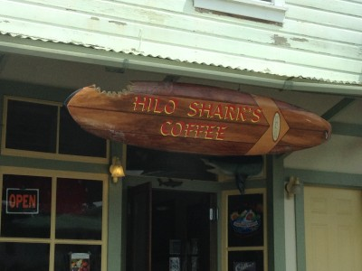 Hilo Sharks Coffee near Akaka Falls