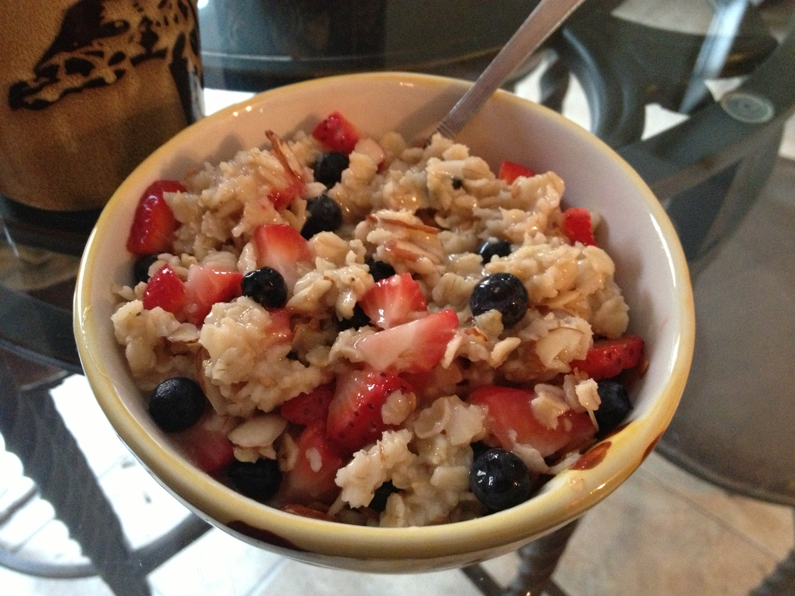 Real Mixed Berry Oatmeal