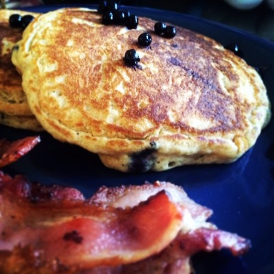 Crispy on the outside, spongy on the inside - this is my pancake.